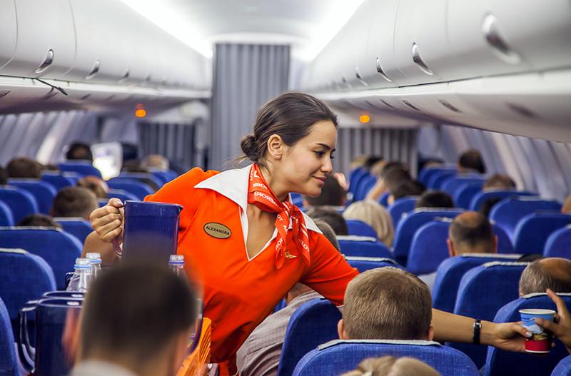 Аэрофлот, стюардесса