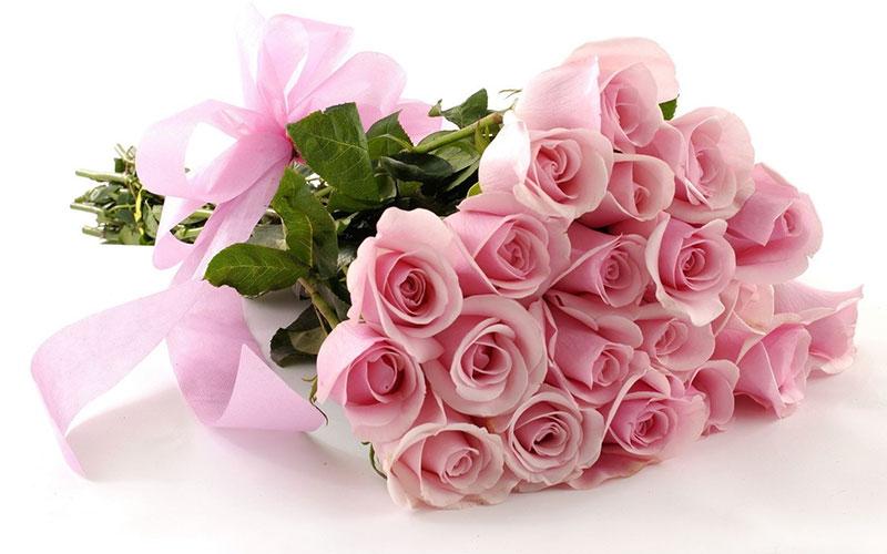 Букет алых роз, фото, поздравление