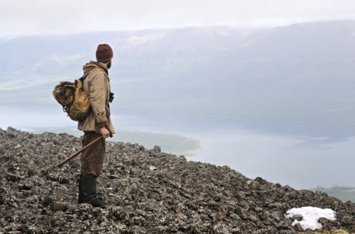 Геолог в походе, фото