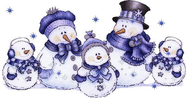 Снеговики, фото