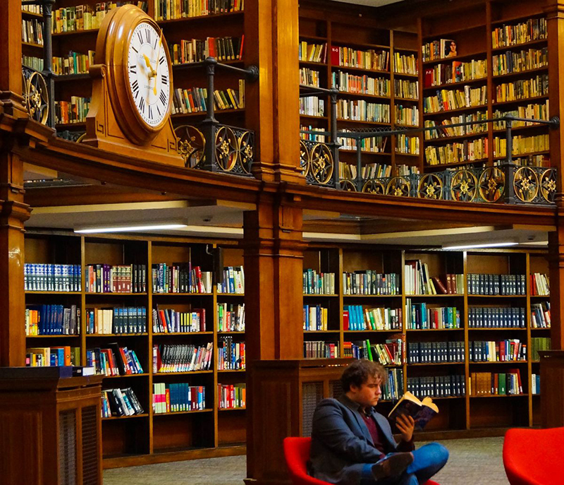 Библиотека, читатели