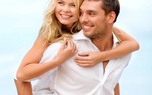 Счастливая пара, влюблённые
