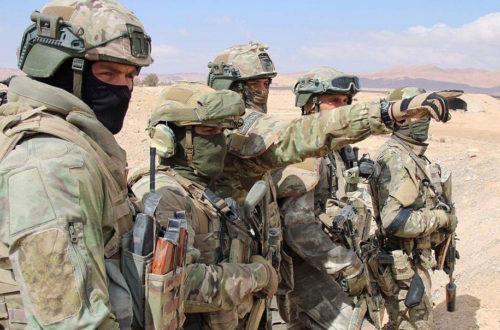 Спецназовцы в работе...