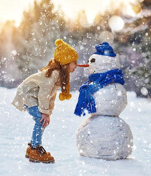 Весёлая зима