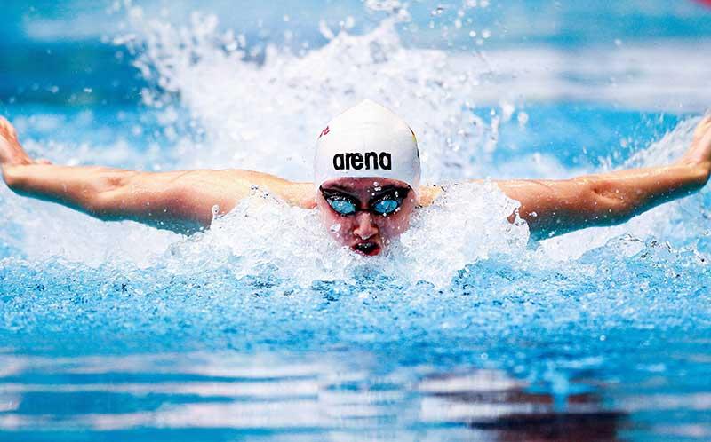Пловец, спортсмен