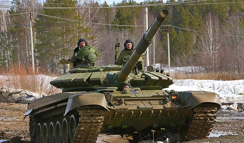 Танкисты, современный танк